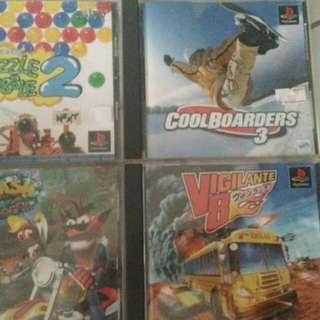Playstation original cd games