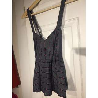 Nordstrom Sleeveless Top (Size X-small)