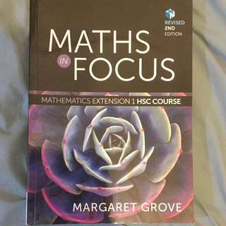 Maths In Focus [Great Condition]