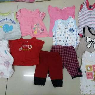 30 Helai Baby Clothes 0-12months