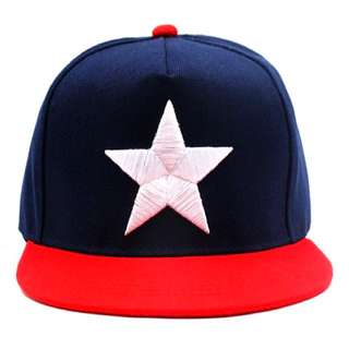 **BRAND NEW CAP CITY CAPTAIN AMERICA SNAPBACK FOR ONLY P1,199.75!!**