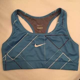 Nike pro sports bra size S