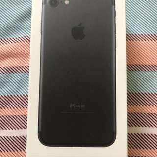 Iphone 7 128Gb Matte Black(Negotiable)
