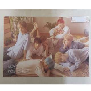 BTS HER LOVE YOURSELF L VER. POSTER
