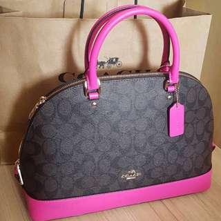 Coach Sierra Dome Satchel Handbag