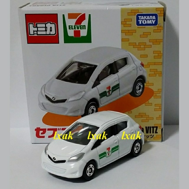 104-5 Toyota Vitz Japan 7 Eleven Exclusive Tomica Special
