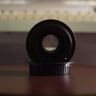 50mm Helios m44-2 lens with ef mount adapter