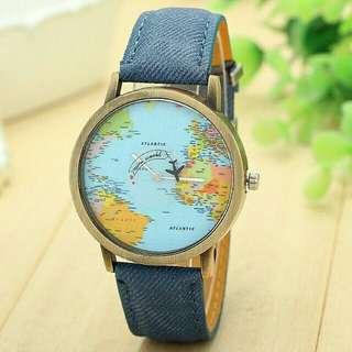Unisex Airplane Travel Watch import
