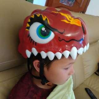 Aleoca kid's helmet dragon design