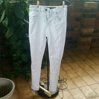 Factorie White Jeans