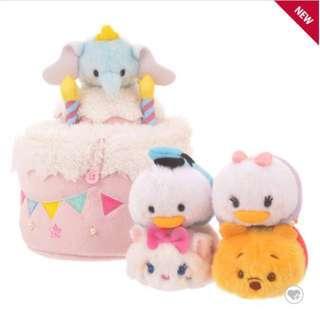【預購/分售】Tsum Tsum 4周年 日本 迪士尼商店 瑪麗貓 唐老鴨 黛西 小飛象