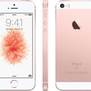 iPhone SE Perfect condition 16gb Rose Gold