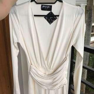 BNWT NASTY GAL White Dress