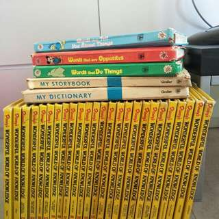Disney encyclopedia set (total of 29 books)