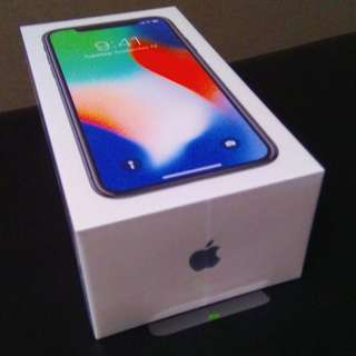 WTS BRAND NEW iPhone X Sliver 256gb Sealed