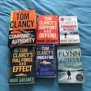 Free Tom Clancy Books