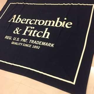 Abercrombie&fitch Af字體logo秋冬大件被毯 純棉