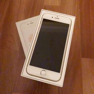 IPHONE 6S 64GB GOLD 6 S 64 GB with box and receipt
