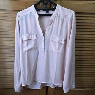 Forever21 pink shirt