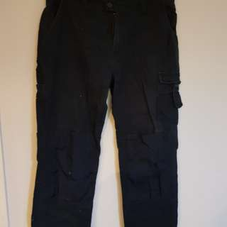 JACKEROO navy cargo pants size 36