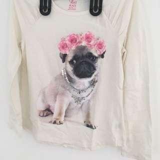 Kaos 🐶 Dog Bordir Mute Size 6T