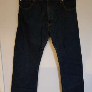 LEVIS boot cut jeans size 38