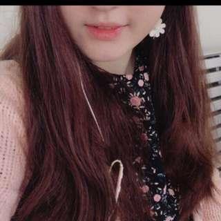 Korea baby pink cardigan