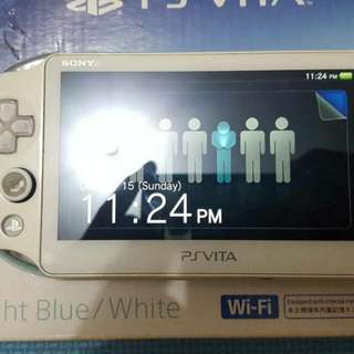 Ps Vita 2000 with 16gb mmc for sale