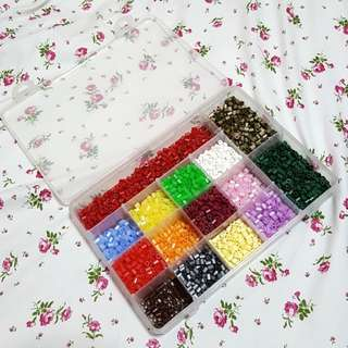 ($30) Whole Box Rare Pyssla Hama Perler Beads
