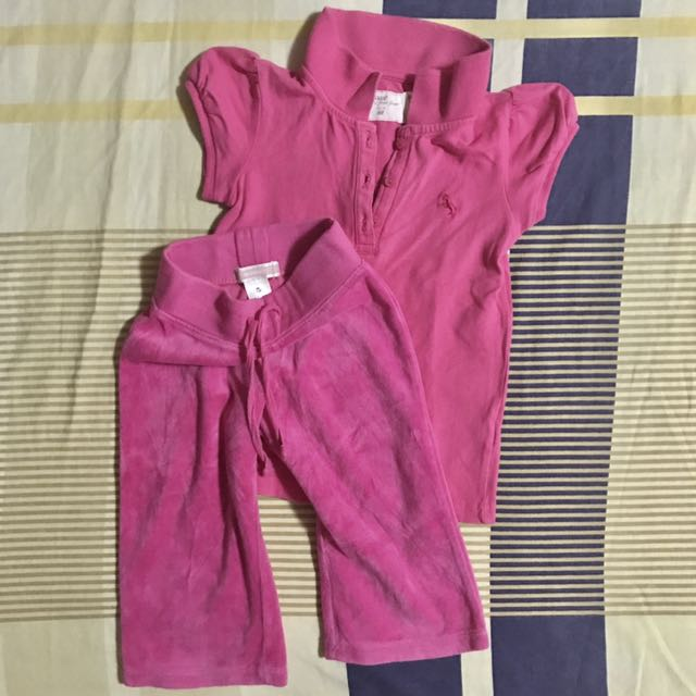 12-18 mos - H&M shirt + Old Navy Comfy pants