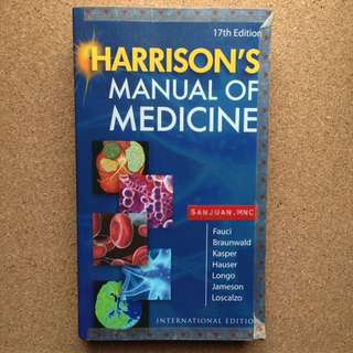 Harrison's Manual of Medicine 17th Edition