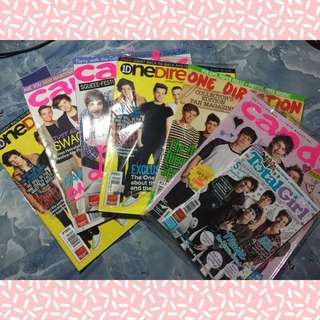 One Direction/5SOS Magazines