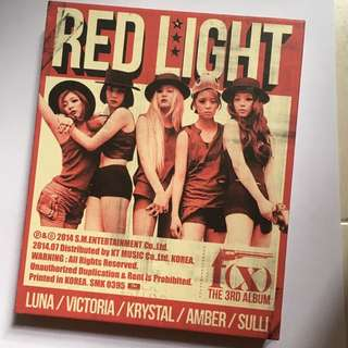 F(x) Red Light CD
