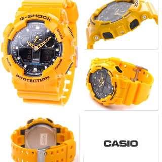 G-Shock Bumblebee GA-100A-9A