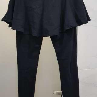 Pregnancy legging skirt