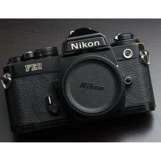 Nikon FE2 black