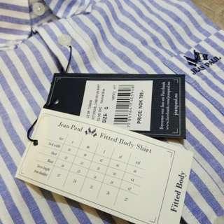 Jean Paul - Fitted Body Shirt (Linen-Cotton)