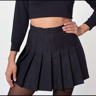 black tennis skirt (inspired) with shorts inside