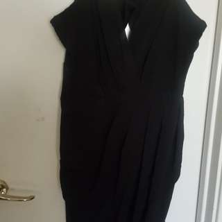 Bnwt black dress size 10