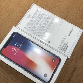 IPhone X 256gb black