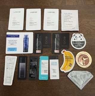 Korean Skincare Samples