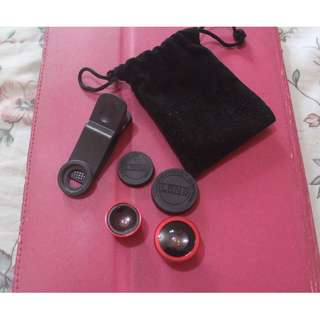 SALE! Clip Lens (Red) with pouch