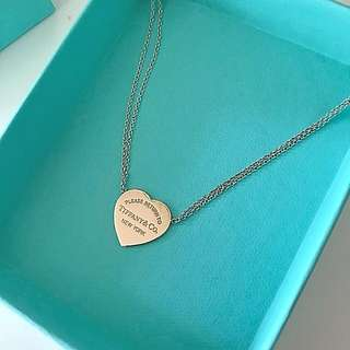 Tiffany & Co classic heart necklace