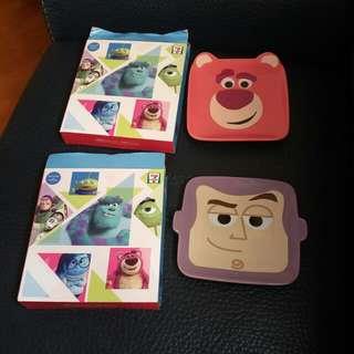 pixar 之星陶瓷碟(巴斯光年)27元一隻