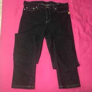 Bettina Liano Dark Blue Jeans (Straight/Slim Fit)