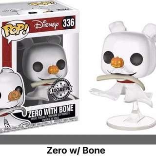 Funko Pop Disney Zero with Bone #336