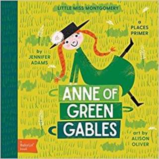 Pre-order: Babylit - Anne of Green Gables