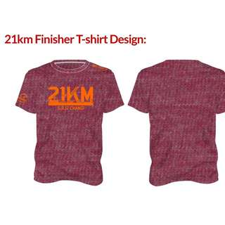 TPS 21km Finisher Tee