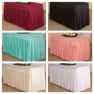 [Sellabrations.sg] Party Table Cloth Fully Covered