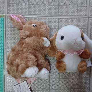 聖誕禮物兔仔公仔